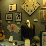 One of our exhibits on display - Audie Murphy and his connection to Country music.