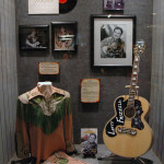 Some of the personal memorabilia from the great Lefty Frizzell on display at the Willie nelson and Friends Museum.