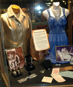 A photo of the Patsy Cline exhibit on display at the Wilie Nelson Museum in Nashville. This is real country music history. Personal items of the great, great Patsy Cline.