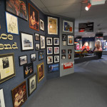 One of our exhibits on display - The entrance to the Willie Nelson and Friends Museum in Nashville, TN.