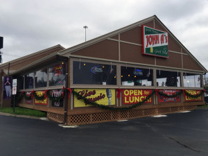 """Forget the chain restaurants...eat at locally owned John A's Restaurant and Bar. As the sign says, """"Good Times Good Food"""" and it's true. They have great live music and the world's best catfish."""