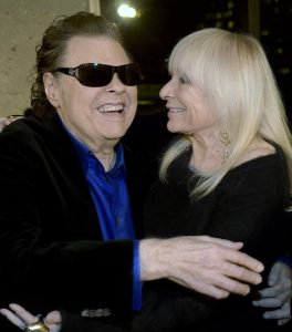 A photo of Ronnie Milsap and wife oyce Milsap attending the Ronnie Milsap Exhibit Opening Reception at the Country Music Hall of Fame And Museum at the Country Music Hall of Fame and Museum on February 5, 2015 in Nashville.