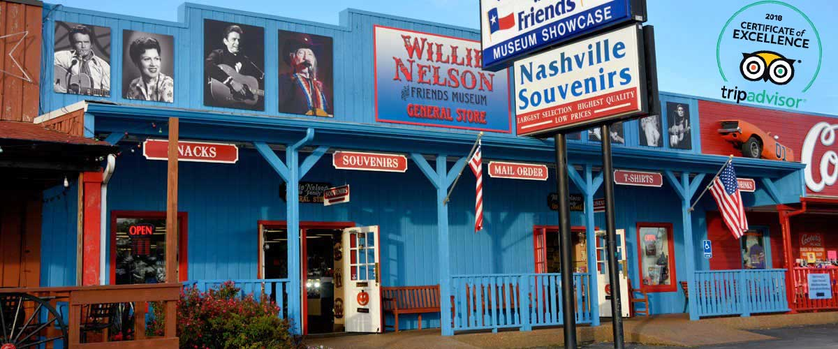 Photo of the Willie Nelson and Friends Museum and General Store