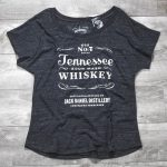 Ladies Jack Daniel's Sour Mash Tennessee Whiskey T-shirt