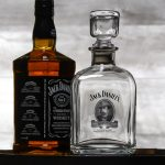 Licensed Jack Daniel's Cameo Decanter