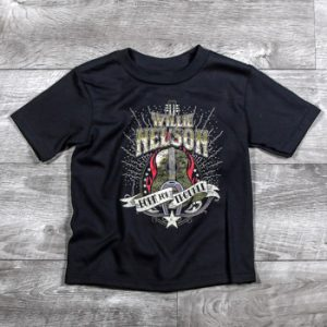 Willie Nelson Born for Trouble T-shirt