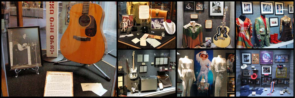 Willie Nelson and Friends Museum in Nashville, TN
